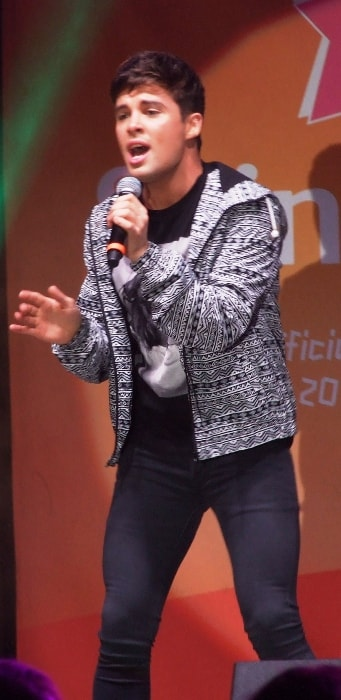 Joe McElderry as seen at the Paralympic Flame Festival, Edinburgh in August 2012