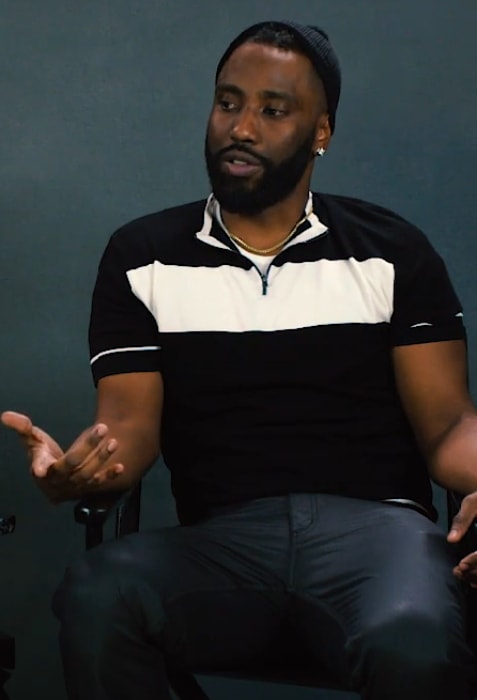 John David Washington as seen in April 2018