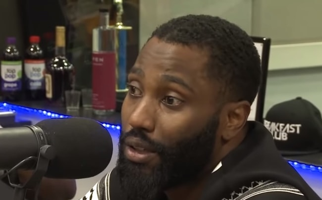 John David Washington during an interview in 2016