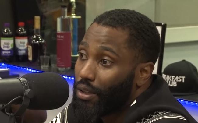 John David Washington during an interview in 2016