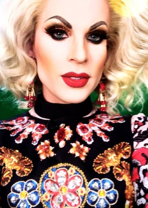Katya Zamolodchikova in an Instagram selfie as seen in Novemer 2018