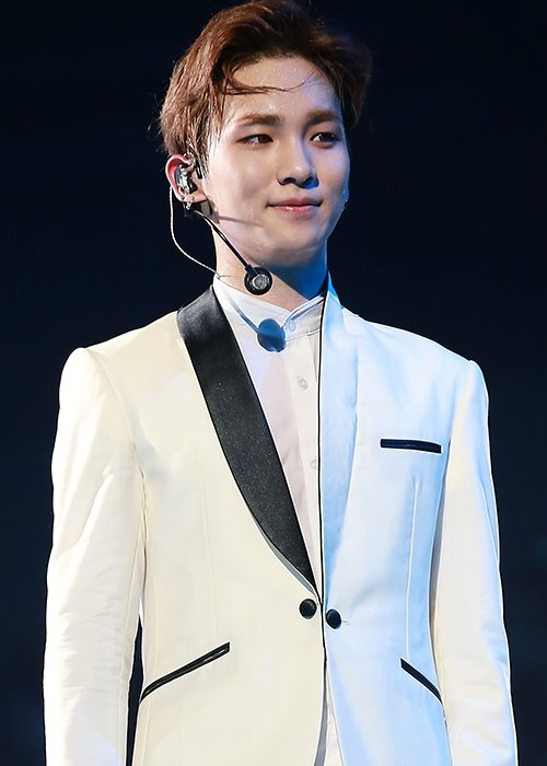 Key at the SHINee World Concert in May 2014