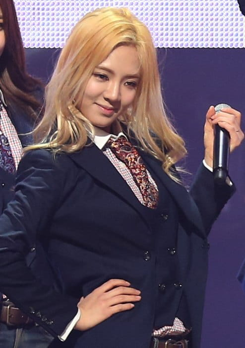 Kim Hyo-yeon as seen in March 2014