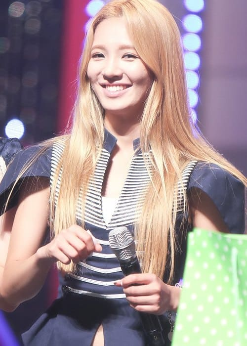 Kim Hyo-yeon at Diet Look Concert in September 2012