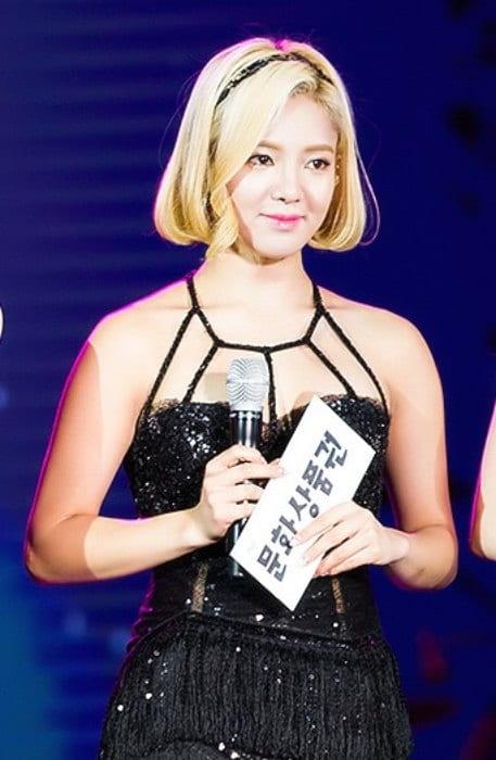 Kim Hyo-yeon at MBC Radio DJ Concert in September 2015