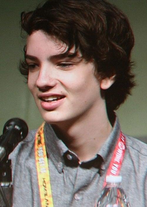 Kodi Smit-McPhee at the 2012 Comic-Con in San Diego