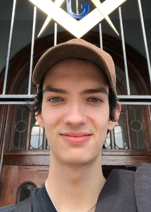 Kodi Smit-McPhee in an Instagram selfie as seen in October 2018