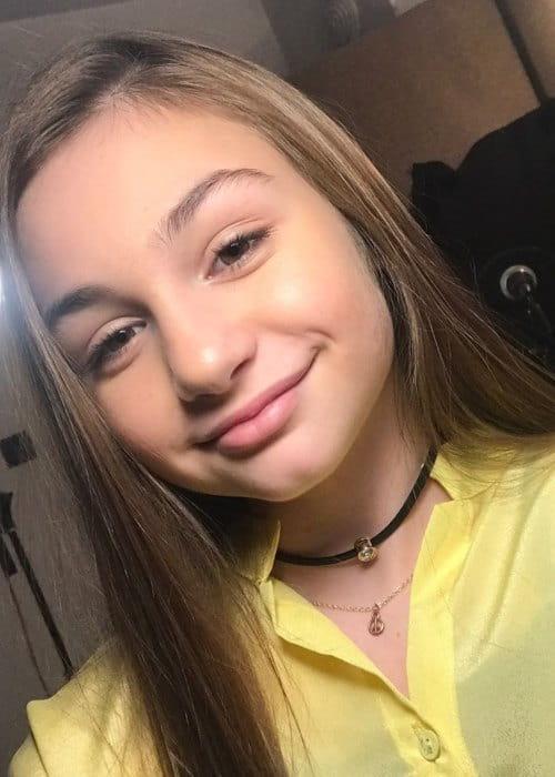 Krisiya Todorova in a selfie as seen in March 2017