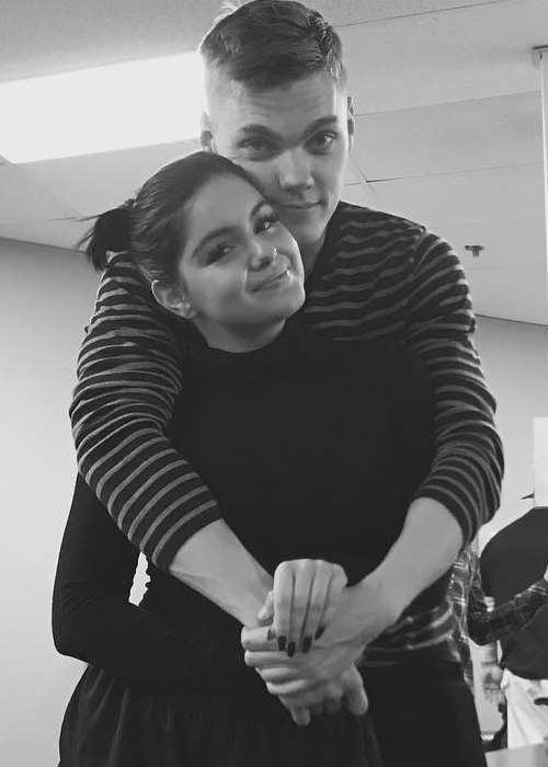 Levi Meaden and Ariel Winter as seen in February 2017