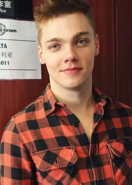 Levi Meaden as seen in March 2017