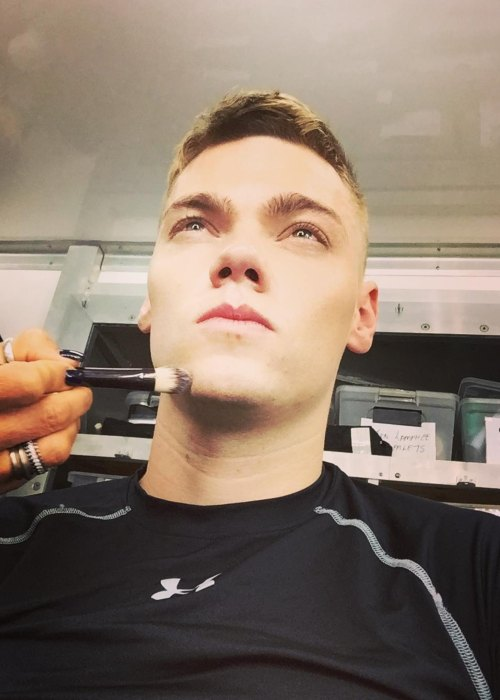 Levi Meaden in a selfie as seen in February 2017
