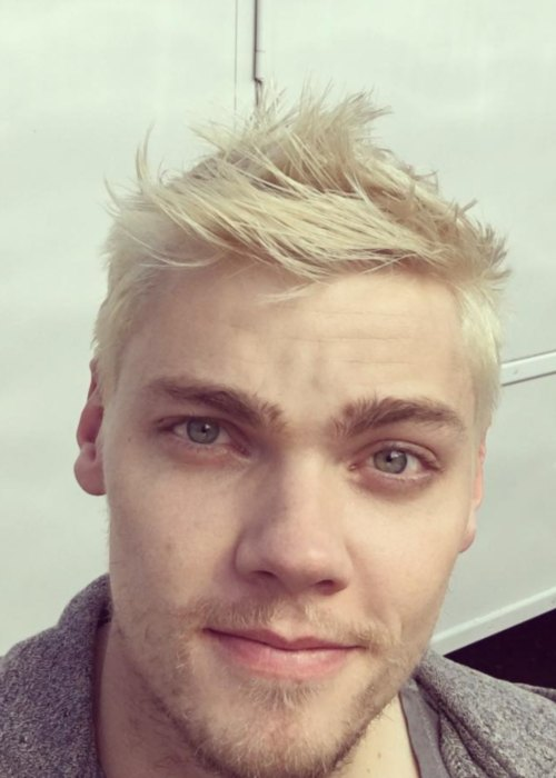 Levi Meaden in an Instagram selfie as seen in July 2017
