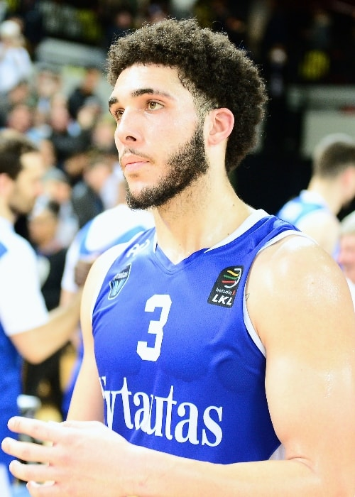 LiAngelo Ball as seen in April 2018