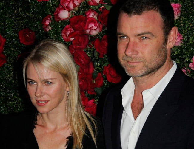 Liev Schreiber and Naomi Watts as seen in April 2012