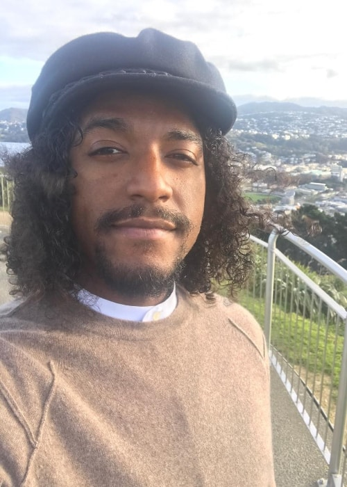 Lloyd in a selfie in August 2017