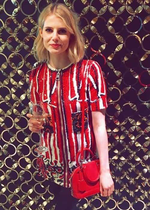 Lucy Boynton in an Instagram post in January 2017