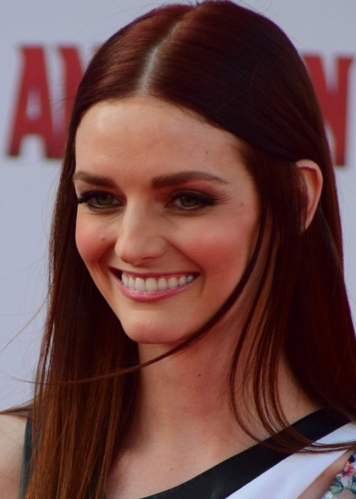 Lydia Hearst at the World Premiere of Marvel's Ant-Man in June 2015