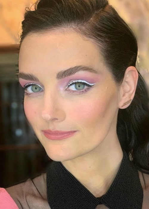 Lydia Hearst in a selfie as seen in January 2020