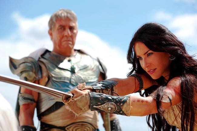 Lynn Collins in a still from the movie 'John Carter' while playing Dejah Thoris in 2012