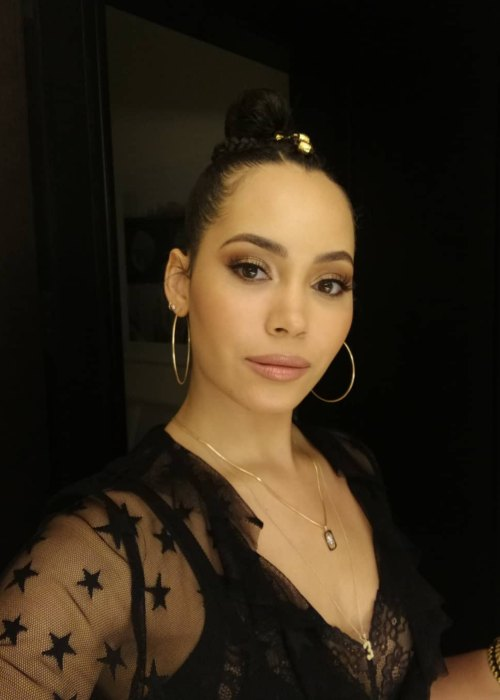 Madeleine Mantock in a selfie in October 2018