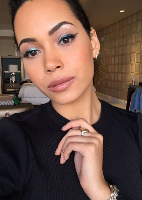 Madeleine Mantock in a selfie in September 2018