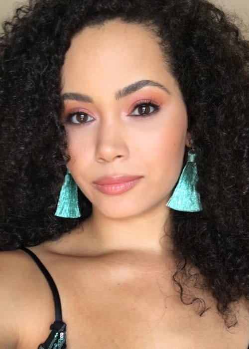 Madeleine Mantock in an Instagram selfie as seen in September 2018