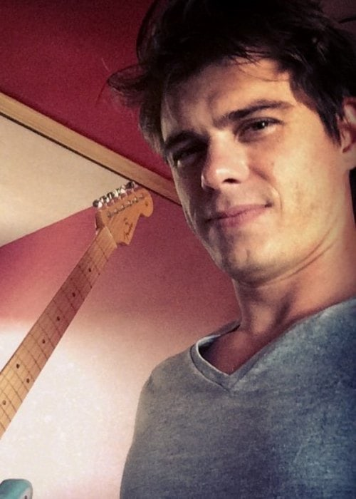 Matthew Lawrence in a selfie as seen in August 2014