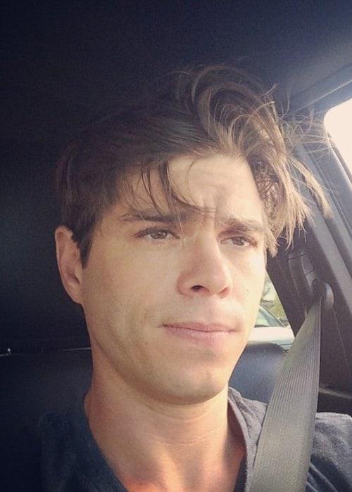 Matthew Lawrence in a selfie in October 2014