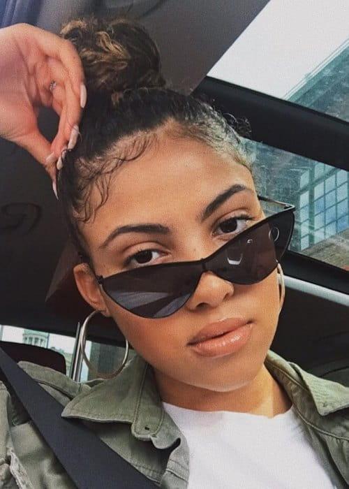 Mckenzie Small in an Instagram selfie as seen in June 2018