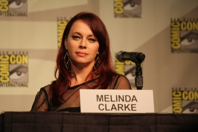 Melinda Clarke as seen in July 2012