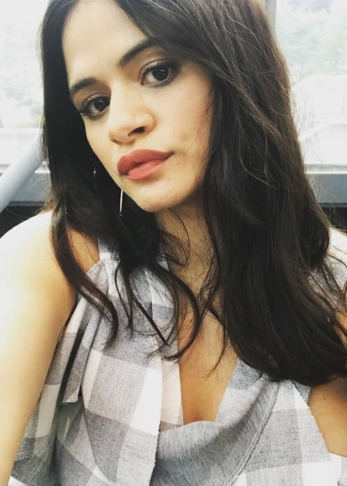Melonie Diaz in an Instagram selfie as seen in October 2018
