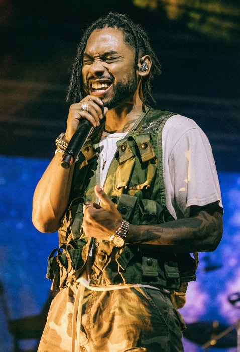 Miguel as seen while performing in September 2017