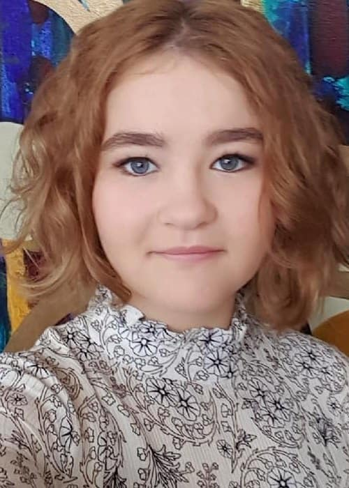 Millicent Simmonds in an Instagram selfie as seen in June 2018