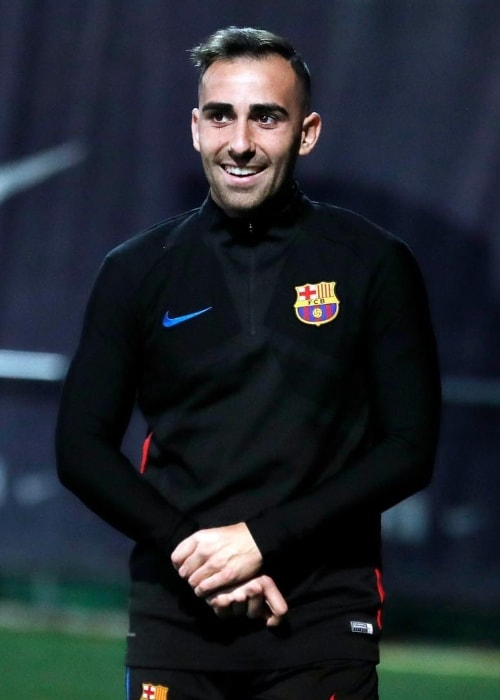 Paco Alcácer as seen in January 2018
