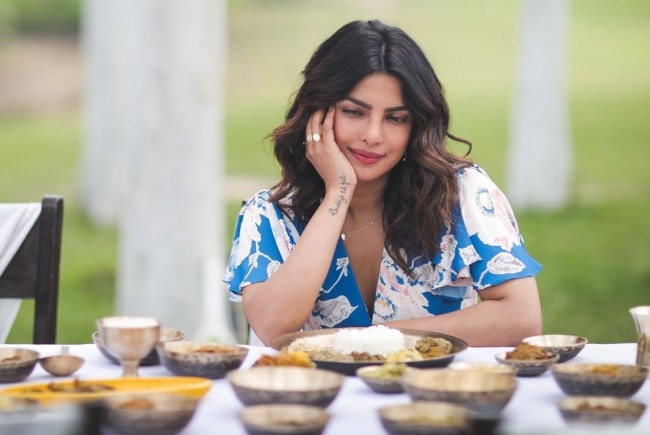 Priyanka Chopra in Jorhat, Assam, India in April 2018