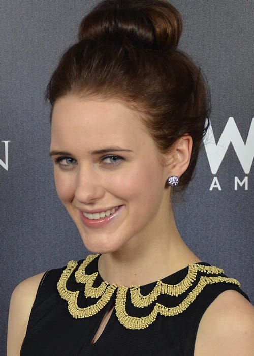 Rachel Brosnahan at a press tour event in July 2014