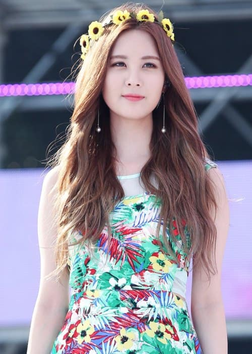 Seohyun at Blue One Water Park in July 2014