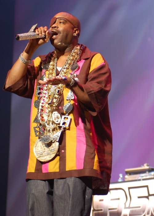 Slick Rick as seen in August 2009