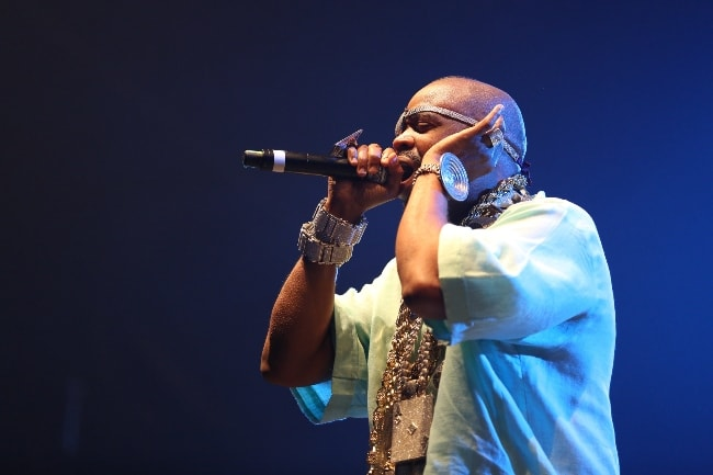 Slick Rick as seen while performing at Out4Fame-Festival 2016