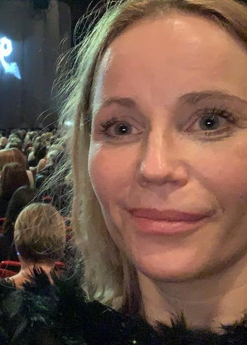 Sofia Helin in an Instagram selfie as seen in November 2018