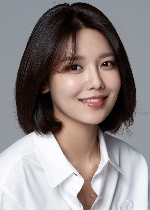 Sooyoung as seen in April 2018