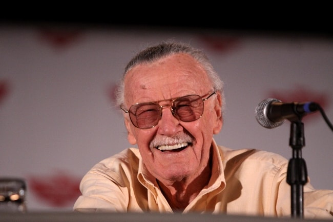 Stan Lee as seen at the Phoenix Comic-Con in May 2011