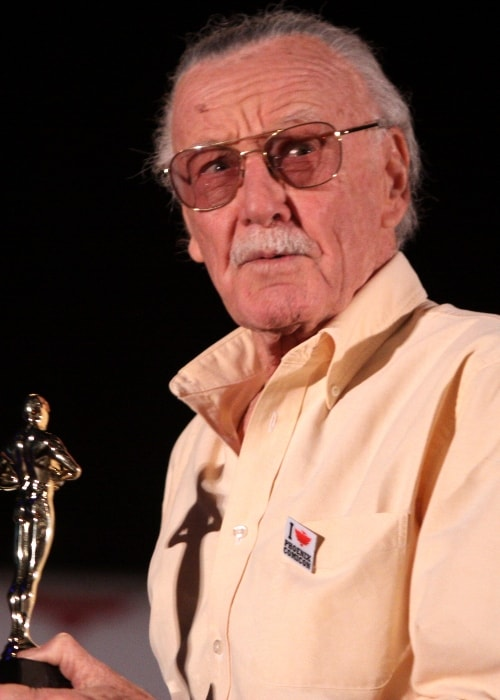 Stan Lee at the Phoenix Comic-Con in Phoenix, Arizona in May 2011