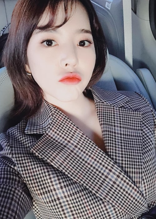 Sunny in a selfie in November 2018