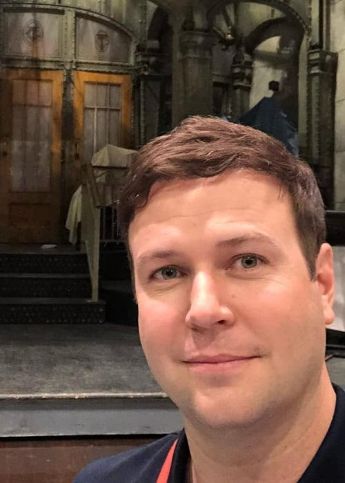 Taran Killam in a selfie as seen in September 2018