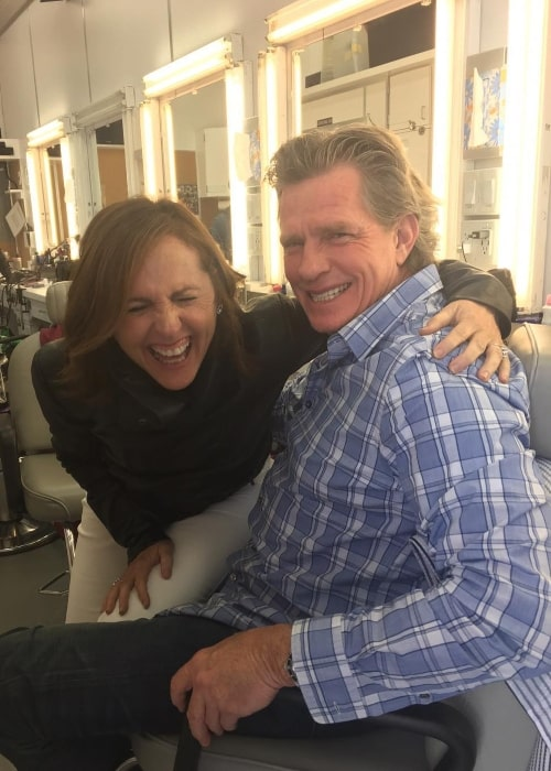 Thomas Haden Church with Molly Shannon in June 2017