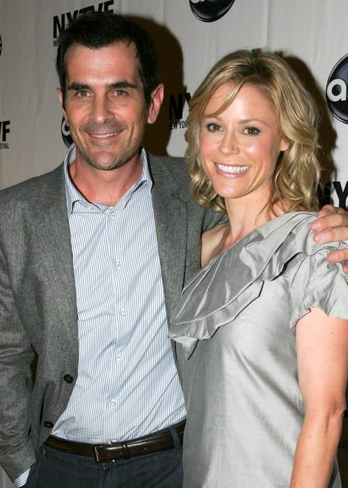 Ty Burrell and Julie Bowen during an event in 2009
