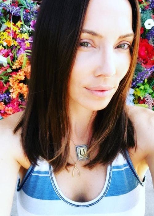 Whitney Cummings in a selfie in August 2018