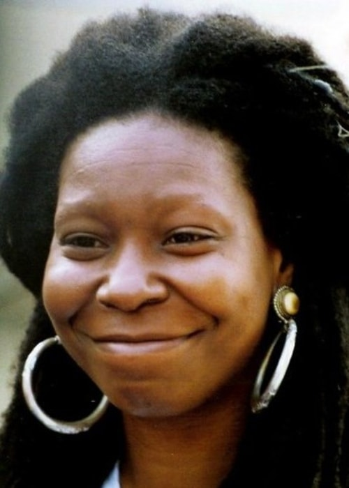 Whoopi Goldberg as seen at the Cannes Film Festival in 1992