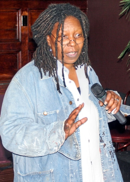 Whoopi Goldberg performing at a charity benefit for Rainforest Action Network in September 2006